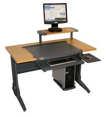 metal computer desk with hutch u2013 interior design