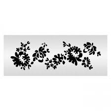 alencon lace traditional stencil shortened