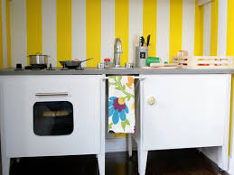 homemade play kitchen ideas diy play kitchen for holiday gift inhabitots