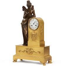 Antique Mantel Clocks Value 19th Century French Napoleon Iii Bronze Antique Mantel Clock Of