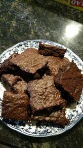 rich and chewy low fat brownies recipe genius kitchen