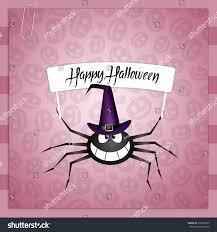 halloween nature background spider spider happy halloween stock illustration 219585025 shutterstock