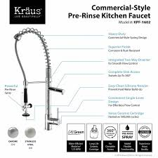 kraus pull out kitchen faucet kraus pull out kitchen mixer single handle kitchen faucet reviews