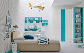 modern boys bedroom rectangular white smooth contemporary stained