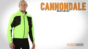 green cycling jacket cannondale morphis cycling jacket for men youtube
