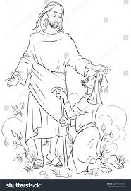 miracles of jesus coloring pages cool jesus healing the blind man