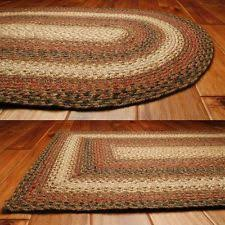 Braided Throw Rugs Red Braided Area Rugs Ebay