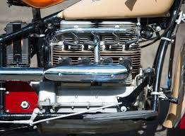 motorcycle with corvette engine silodrome gasoline culture