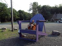 giant purple chair the orange chair