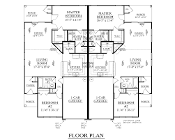 Duplex Plans For Narrow Lots Houseplans Biz House Plan D1196 A Duplex 1196 A