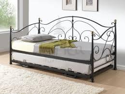 bedroom glamorous birlea milano 3ft single black metal day bed