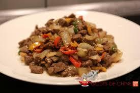 cuisine chinoise boeuf aux oignons boeuf aux oignons et cumin recette chinoise