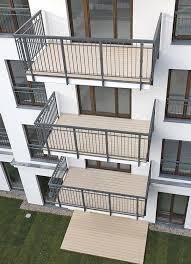 freitragende balkone lösung für freitragende balkone und kunststoffummantelte