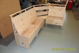 home design amazing kitchen corner bench plans pid 12795 amish