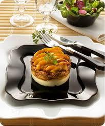 cuisiner des cuisses de canard confites recette parmentier de confit de canard aux pommes 750g