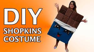 Hershey Halloween Costume Diy Shopkins Halloween Costume Cheeky Chocolate Custom Tutorial