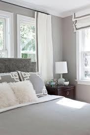 Silver Velvet Headboard gray bedroom features gray walls framing gray velvet headboard
