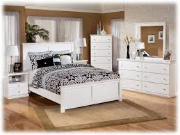 bedroom distressed white bed frame rustic with regard to remodel 6