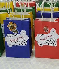 paw patrol party bags u0027s party paw patrol