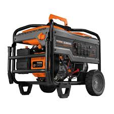 ridgid 6 800 watt idle down gasoline powered electric start