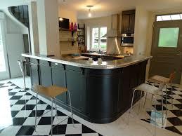 comptoir de cuisine sur mesure cuisine avec un grand bar maisons casas décor de