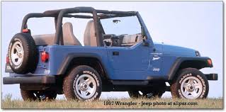 97 jeep wrangler se 1997 2006 jeep wrangler tj a suspension for an iconic suv