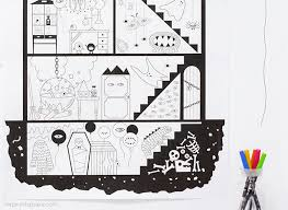 coloring page house coloring pages mr printables
