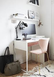 Desk Ideas For Small Spaces Best 25 Small White Desk Ideas On Pinterest Small Desks Room