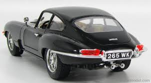 jaguar back burago 3018 scale 1 18 jaguar e type coupe 1961 black