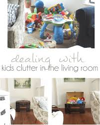 dealing with kids clutter how to have a family room everyone can