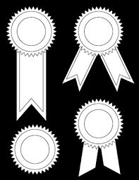 printable ribbon award ribbons