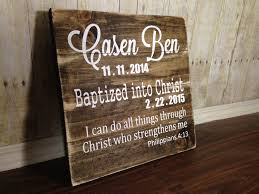 christian baptism gifts rustic inspired home and wedding decor by thesimplesparrowdlb