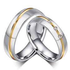 unique metal rings images Tassina unique couple ring fashion 2015 wedding rings for couples jpg