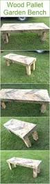 wood pallet garden bench wood pallet furniture