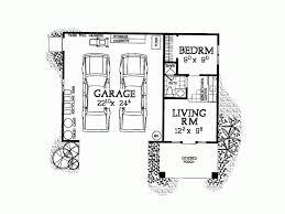 one story garage apartment plans eplans garage plan garage and studio apartment 321 square feet