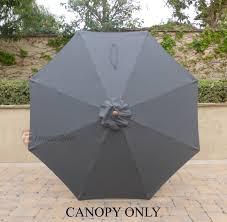 Floral Print Patio Umbrellas by Tips Patio Umbrella Replacement Sunbrella Replacement Canopy