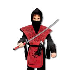 Halloween Ninja Costumes Red Dragon Ninja Costume Brotherhood Dragon Ninja Ninja