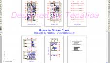 house plan cad file modern autocad drawing download free indian