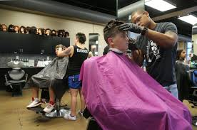 students receive free supplies haircuts before starts