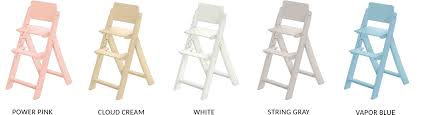 foldable highchair soho by hugs factory