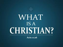 the true meaning of the word christian