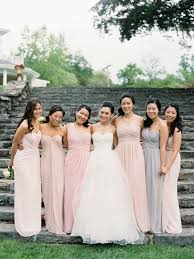 mix match bridesmaid dresses mix and match bridesmaid dresses trendy magazine