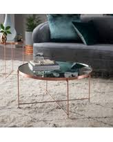exclusive deals on copper coffee table