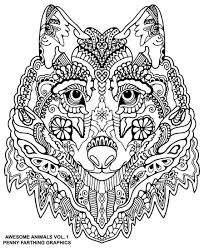 wolf coloring coloring pages wolf quilling