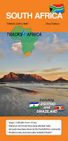 Lesotho Map South Africa Paper Map