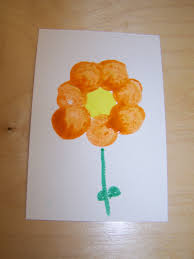 my montessori journey spring flower art project