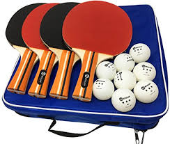 table tennis and ping pong amazon com jp winlook ping pong paddle 4 pack pro premium table