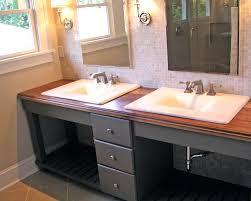 Double Vanity Tops For Bathrooms Vanities Diy Double Sink Vanity Top Diy Double Sink Vanity Plans