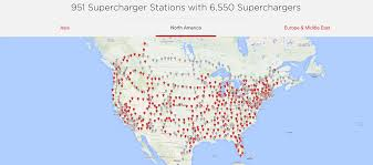 Tesla Supercharger Map Financial Distress Is On The Table For Blink Charging Car