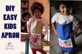 child u0027s apron diy tutorial tuesday morning haul u0026 giveaway youtube